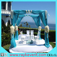 cheap portable wedding backdrop stand wedding pipe drapes