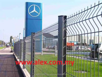 High Quality PVC Coated 3D Wire Mesh Fence/ Welded Garden Fence Panel