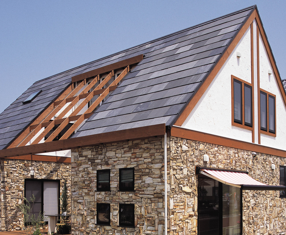 Eco-friendly and Durable versatile roof slate with cool and lightweight