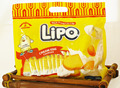 Delicious Biscuit with cream flavor - Halal biscuit Lipo pack in bag 300gr
