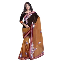 Multi-color Synthetic Traditional Saree TSRS820