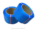 PP strapping band - blue color with printing