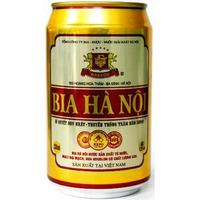 Hanoi beer 330 ml can - Vietnam high quality beer