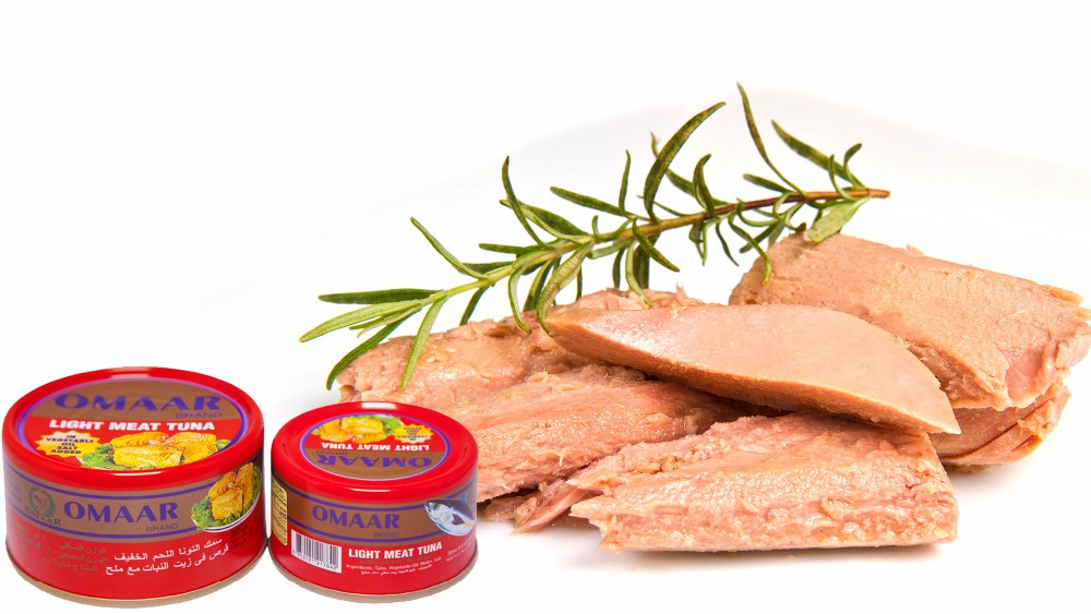 Omaar Tuna - Light Meat Tuna in Vegetable Oil 95 gr