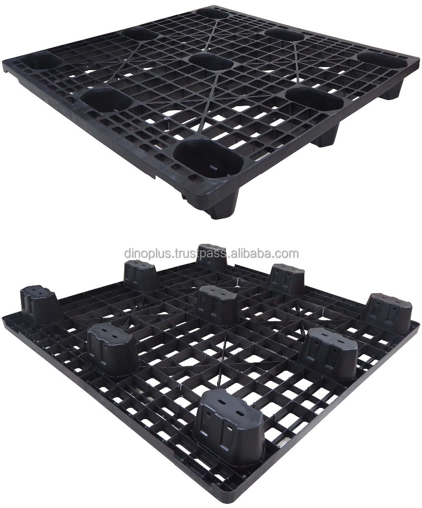 Liga NLT 1111 LG 4-Way Single euro Disposable Plastic Pallet