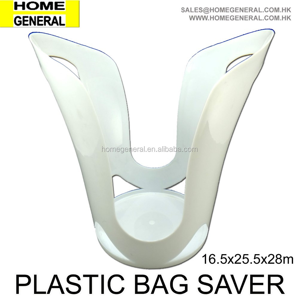 HOME GENERAL, PLASTIC BAG SAVER, PLASTIC BAG HOLDER, CHEAP PLASTIC BAG GRIP HOLDER, SURE-GRIP BAG STAND