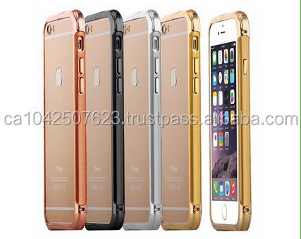 new style Slim Metal Bumper Buckle Case For iPhone 6/6s with good warranty service