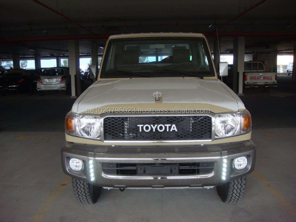 2016-TOYOTA LAND CRUISER SINGLE CAB PICKUP V6 4.0L PETROL