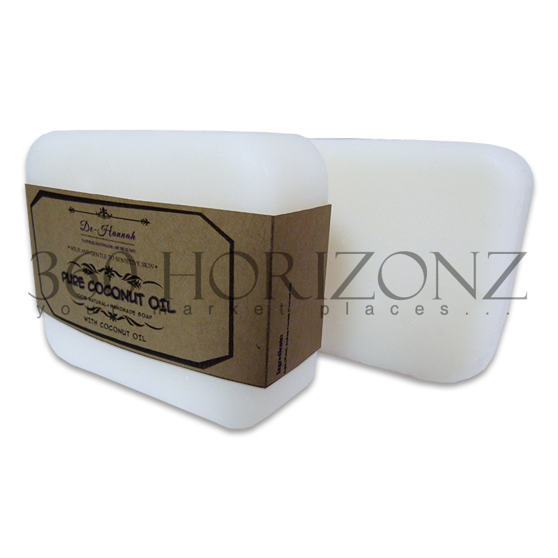 100% Natural / Beauty Natural Handmade Soap / Pure Coconut Oil Handmade Soap