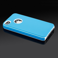 IMPRUE Dual color Hard gel TPU case cover for iphone 4s