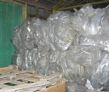 est price waste clear recycled plastic roll bales ldpe agriculture film scrap