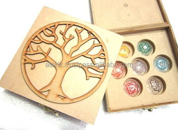 Indian Chakra Stone Sets : Christmas Winter Collection : Chakra Boxes