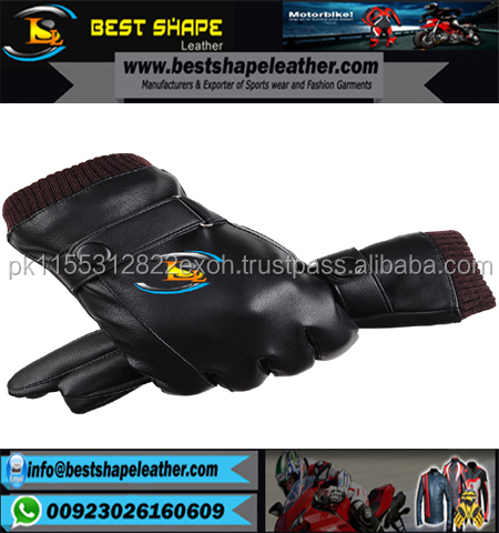 2017 BLACK SHEEP LEATHER DRIVING GLOVES FASHION DRESS GLOVES FOR MEN
