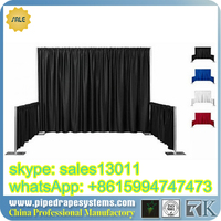 pipe and drape for wedding decorations - pipe and drape package, backdrop design sample for wedding and party