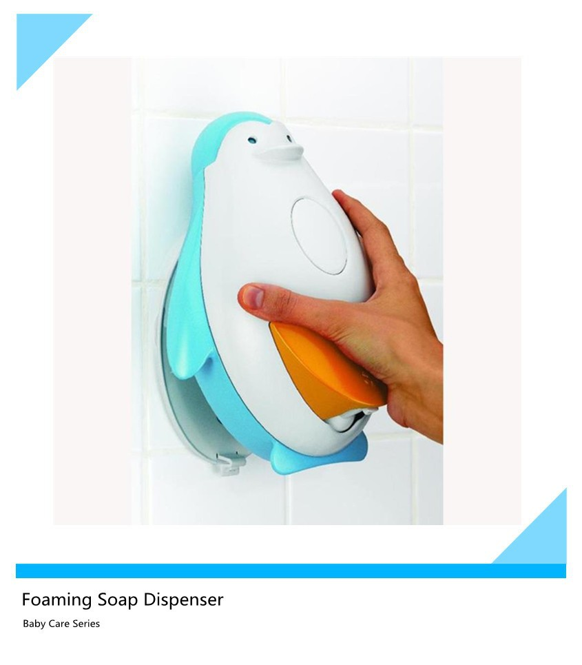 buy ABS wall mounted OEM manual foam soap dispenser baby care products soap dispenser from icti manufacturer