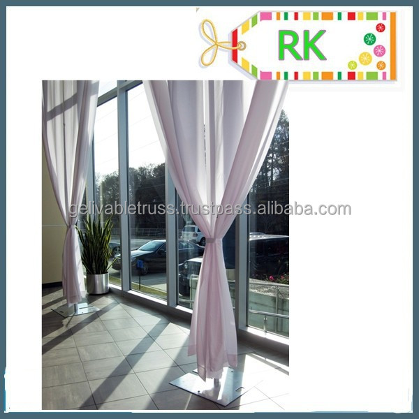 Soft Purple Curtain with Event Decorating Services