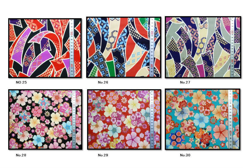 Japanese design fabric No27