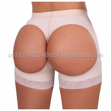 Butt Lifter Short girdle buttocks lifter covered or open holes