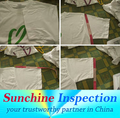 T-Shirt Production Quality Inspection / T-Shirt Pre-Shipment Inspection in Nanchang / Container Loading Check