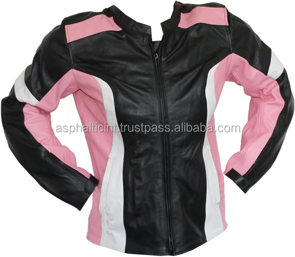 Leather Jacket for Bikers women