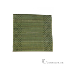Bamboo mat, 100% made from natural materials, elegant colour and design