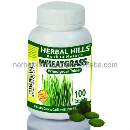 Organic Wheatgrass Tablet Most Powerful Herbs for Detoxification