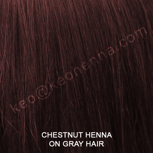 Chestnut Henna Hair Colour