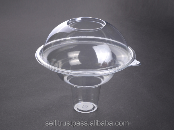 Ice cream cup with lid , SL-B600