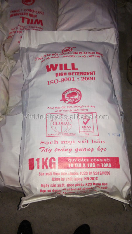 high quality detergent washing powder from Vietnam harmless to skin