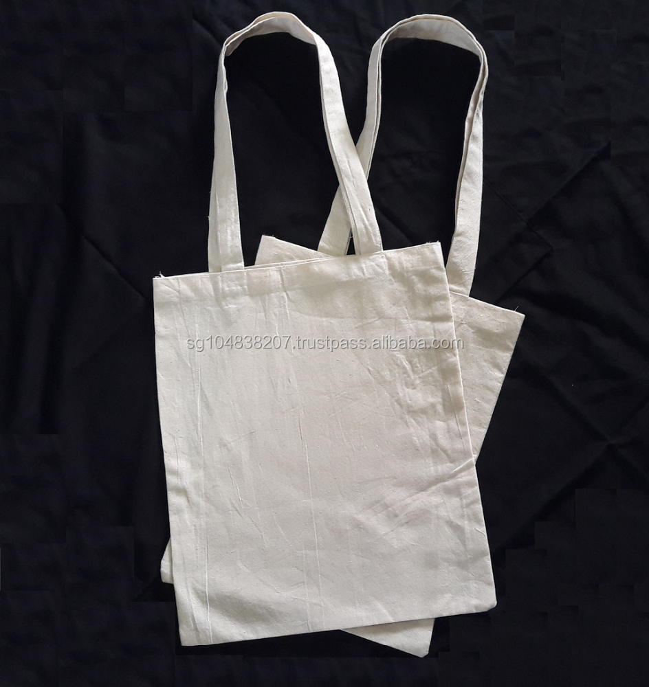 Tote Bag 100% Natural Cotton