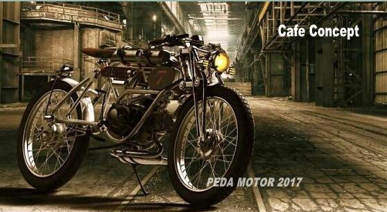 (PEDA MOTOR 2017)Cafe Racer 50cc classic vintage motorcycle retro motorbike motorcycle wholesale factory manufacturer