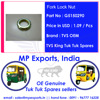 Tvs Three Wheeler Fork Lock Nut Spare parts