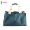 Cotton Tote Bag With Dyed Fabric