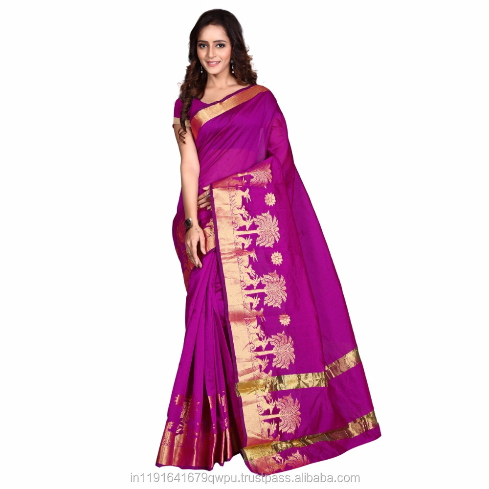 Party Wedding Wear Traditional Banarasi Silk Saree In Surat