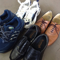 Various sizes and types of used shoes for men in good condition