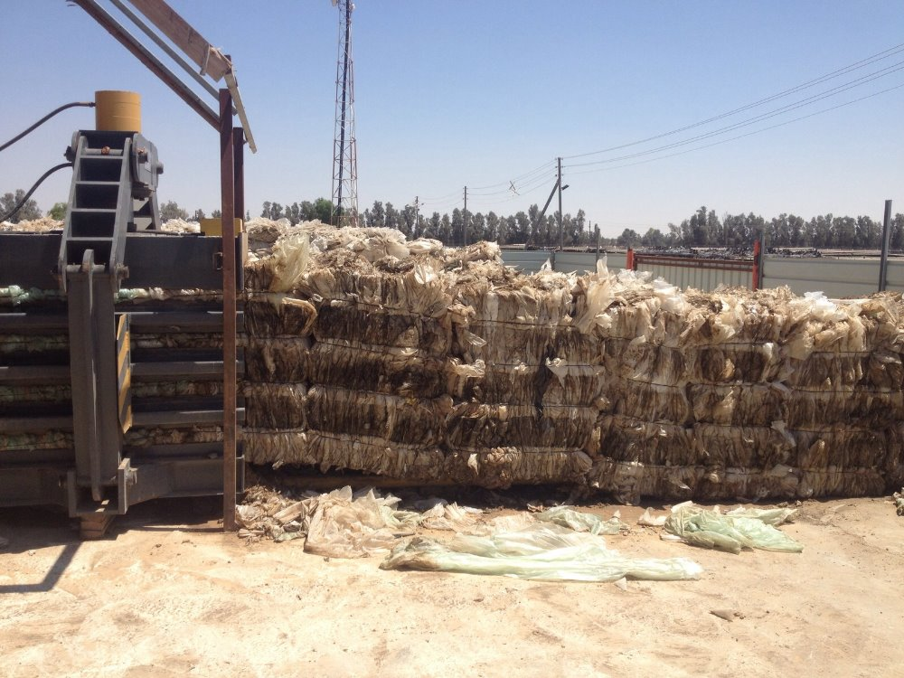 PLASTIC WASTE FOR SALE - CLEAR LDPE AGRICULTURAL FILM (BALED)