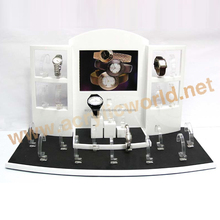 Watches bracelet display stands solid sturdy MDF base thick watch display holder acrylic watch display stand