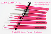 Non-Magnetic Eyelash Extension Tweezers/Straight/Pro Straight/Curved/Angled 15 Degree & 45 Degree/X-Type/A-Type Tweezers