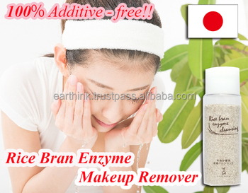 pore cleaner / japanese very popular japan facial cleansing soap 100% Additive-free! Rice Bran Enzyme Makeup Remover