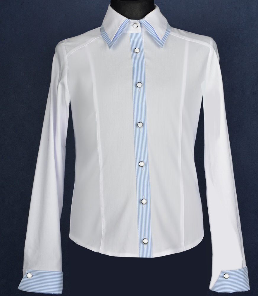 Double collar shirt for girls