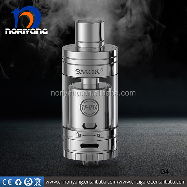 2016 Smok New TF-RTA G4 Tank Stainless Steel, Black Smok TF RTA G4 Tank
