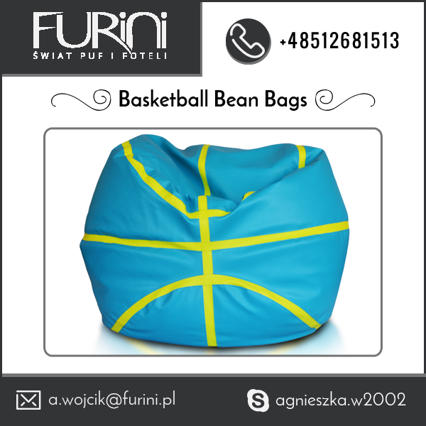 Big in Size, Low in Price Basketball Beanbag Sofa Chair for Children