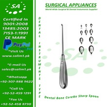 Dental Bone Curette - Sharp Spoon
