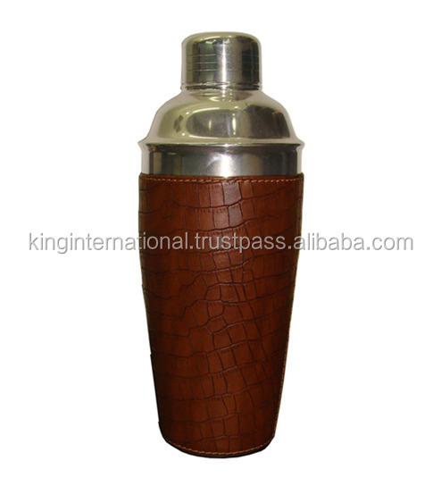 leather wine carrier wholesale protein shaker