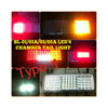 76 LED Combination tail light 4 chamber type for trucks & trailers
