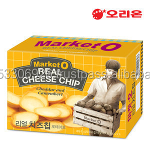 [KOREA FOOD&SNACK] ORION MarketO Real Cheese Chip