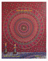 Indian Decor Mandala Tapestry Wall Hanging Hippie Throw Bohemian Twin Bedspread Yoga Mat Gift