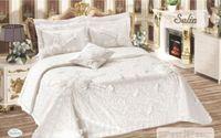 Luxury Plain White Roses Honeymoon Bedding Set Wedding Duvet Cover Set Bedspread