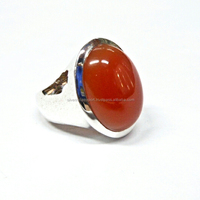 Onyx Red Beautiful 925 Sterling Silver