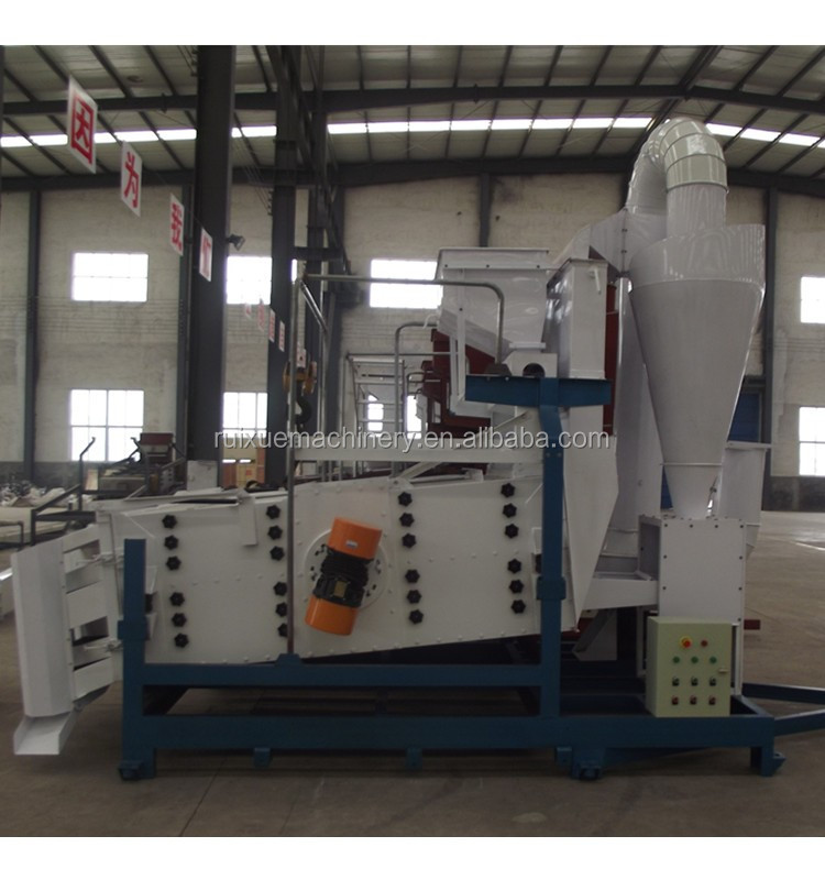 Grain Seed Cleaning Machine/ Seed Cleaner for Beans Wheat Sesame Barley Maize
